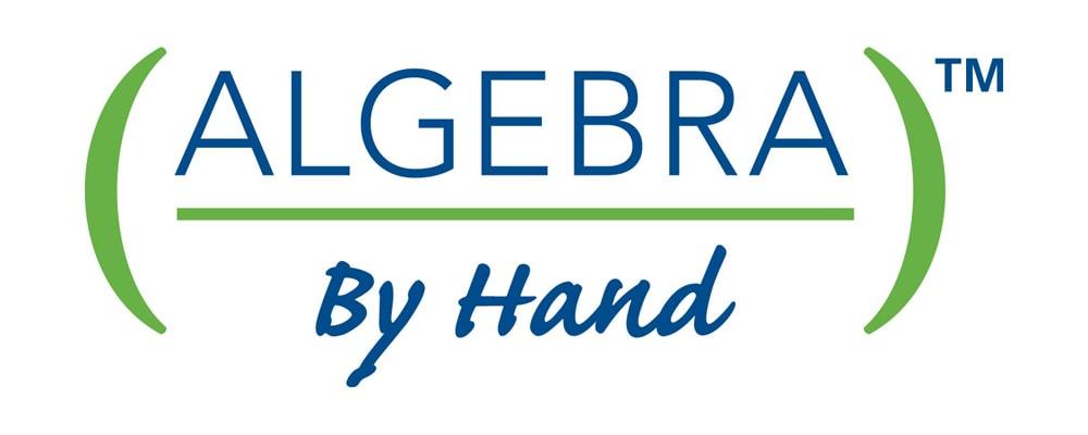Algebra By Hand Logo