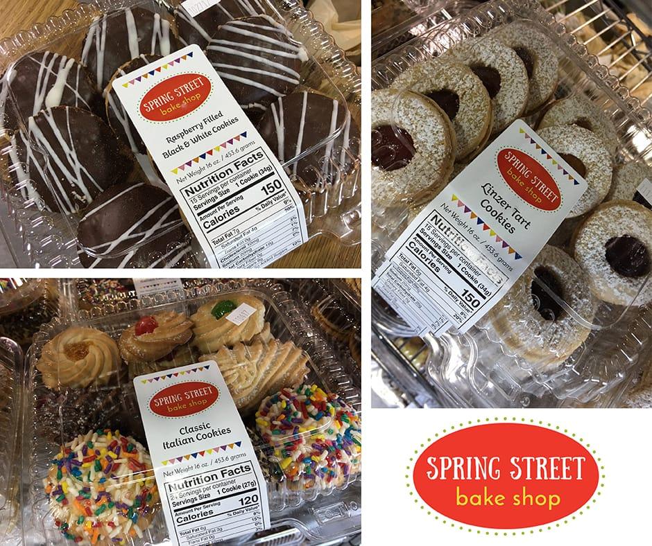 Spring Street Bake Shop Packages