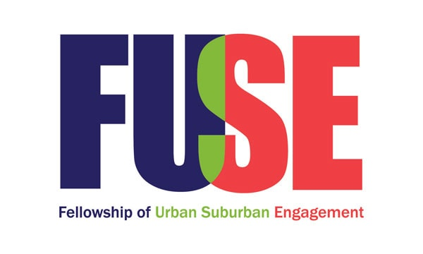 Logo for FUSE: Fellowship of Urban Suburban Engagement